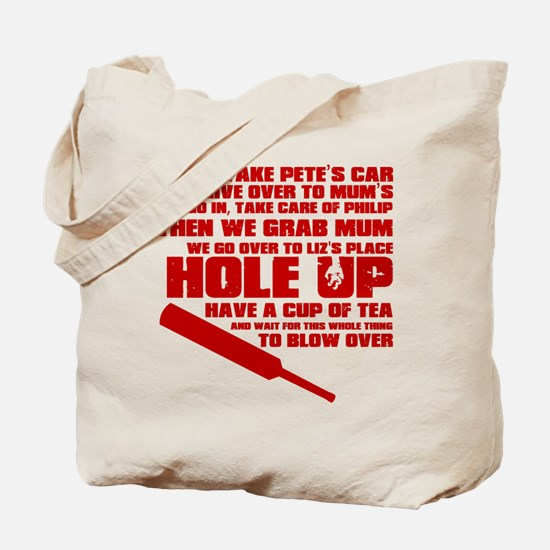 Hole Up Tote Bag