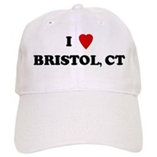 I Love Bristol Baseball Cap
