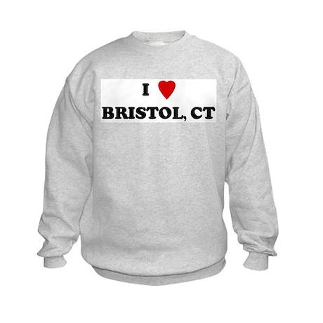 I Love Bristol Kids Sweatshirt