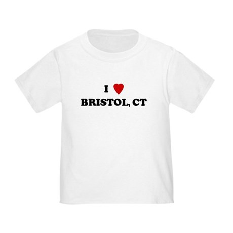 I Love Bristol Toddler T-Shirt