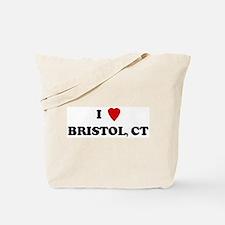 I Love Bristol Tote Bag