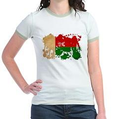 Madagascar Flag Jr. Ringer T-Shirt