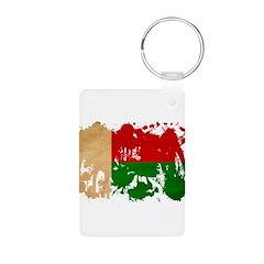 Madagascar Flag Keychains