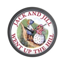 Jack and Jill Wall Clock