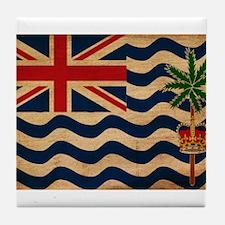 British Indian Ocean Territor Tile Coaster