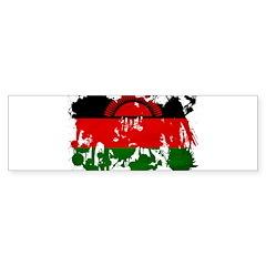 Malawi Flag Sticker (Bumper)