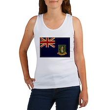 British Virgin Islands Flag Women's Tank Top