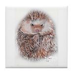 Hedgehog I Tile Coaster