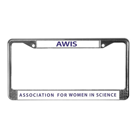 AWIS License Plate Frame