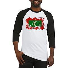 Maldives Flag Baseball Jersey