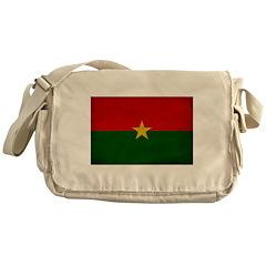 Burkina Faso Flag Messenger Bag