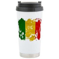 Mali Flag Stainless Steel Travel Mug