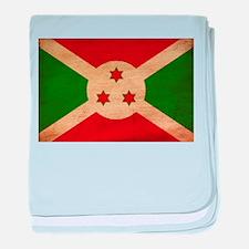 Burundi Flag baby blanket