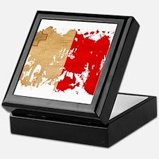 Malta Flag Keepsake Box