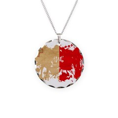 Malta Flag Necklace