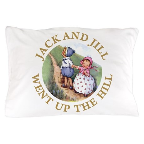 Jack and Jill Pillow Case