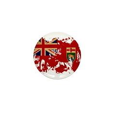Manitoba Flag Mini Button (10 pack)