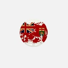 Manitoba Flag Mini Button