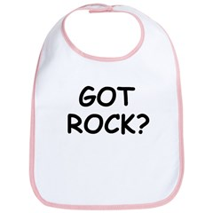 GOT ROCK? Bib