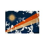 Marshall Islands Flag Rectangle Magnet (100 pack)