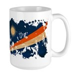 Marshall Islands Flag Large Mug