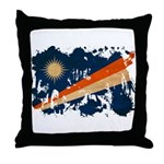 Marshall Islands Flag Throw Pillow