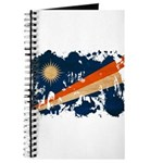 Marshall Islands Flag Journal