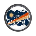 Marshall Islands Flag Wall Clock