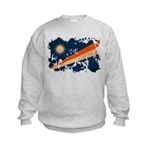 Marshall Islands Flag Kids Sweatshirt