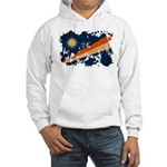 Marshall Islands Flag Hooded Sweatshirt