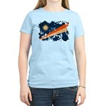 Marshall Islands Flag Women's Light T-Shirt