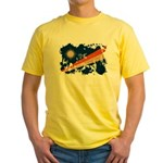 Marshall Islands Flag Yellow T-Shirt