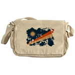 Marshall Islands Flag Messenger Bag