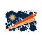 Marshall Islands Flag Car Magnet 20 x 12