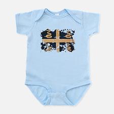 Martinique Flag Infant Bodysuit