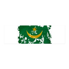 Mauritania Flag 42x14 Wall Peel