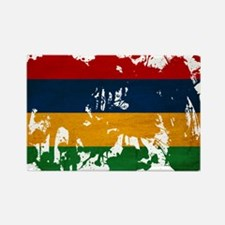 Mauritius Flag Rectangle Magnet