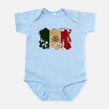 Mexico Flag Infant Bodysuit