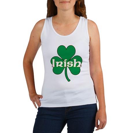 Irish Shamrock Women's Tank Top