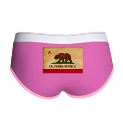 California Flag Women's Boy Brief