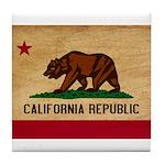 California Flag Tile Coaster