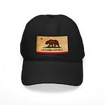 California Flag Black Cap