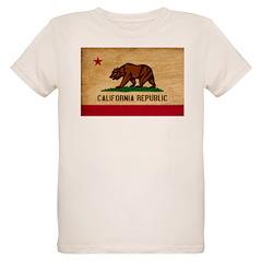 California Flag Organic Kids T-Shirt