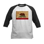 California Flag Kids Baseball Jersey