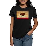 California Flag Women's Dark T-Shirt