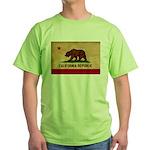 California Flag Green T-Shirt