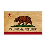 California Flag 38.5 x 24.5 Wall Peel