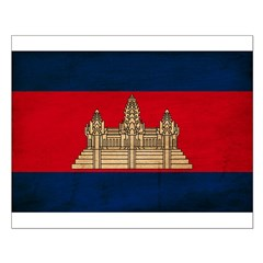 Cambodia Flag Posters