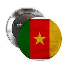 """Cameroon Flag 2.25"""" Button (100 pack)"""