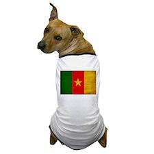 Cameroon Flag Dog T-Shirt